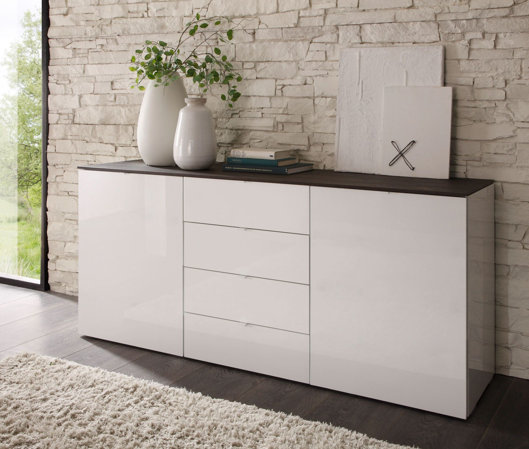 Visit the post for more. | Sideboard weiss, Kommode weiß hochglanz, Sideboard weiss hochglanz
