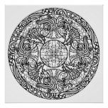 Sea Anemone Ocean Coloring Poster  Sea Anemone Ocean Coloring Poster  $17.75  by ColoringCraftShack  . More Designs http://bit.ly/2hyOutM #zazzle