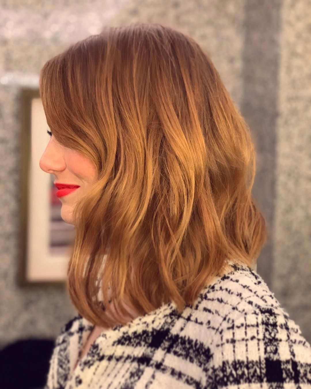 Emma Stone gave her own spin on the hottest haircut of 9. See