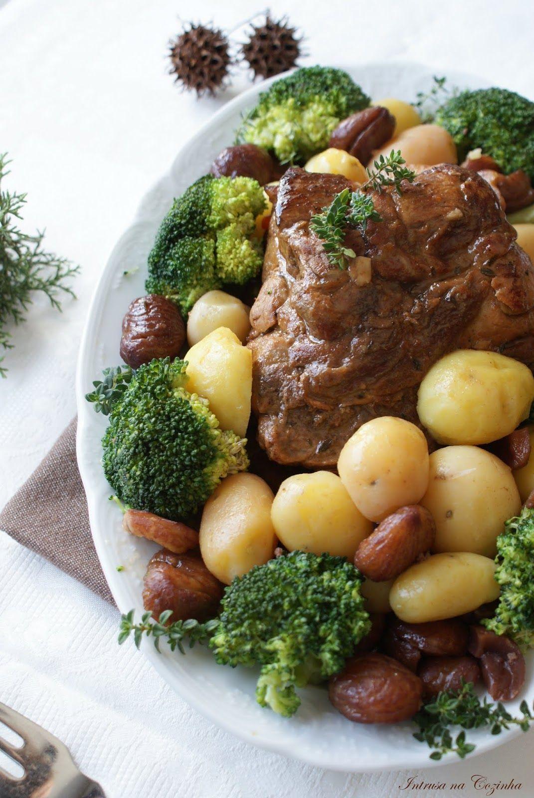 Intrusa na Cozinha: Carne de Porco com Castanhas em calda de Vinho do Porto // Pork with Chestnuts in Syrup of Oporto Wine