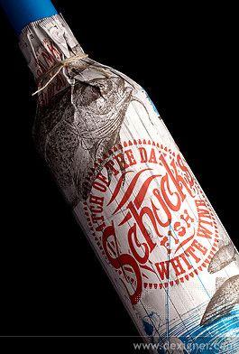 Schucks bottle sleeve by Stranger & Stranger featured on Dexiner.com