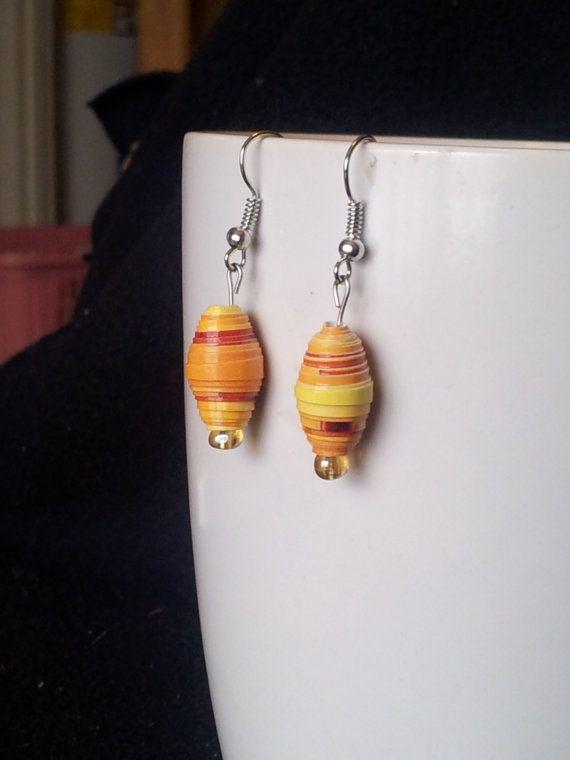 Citrus Drop Earrings