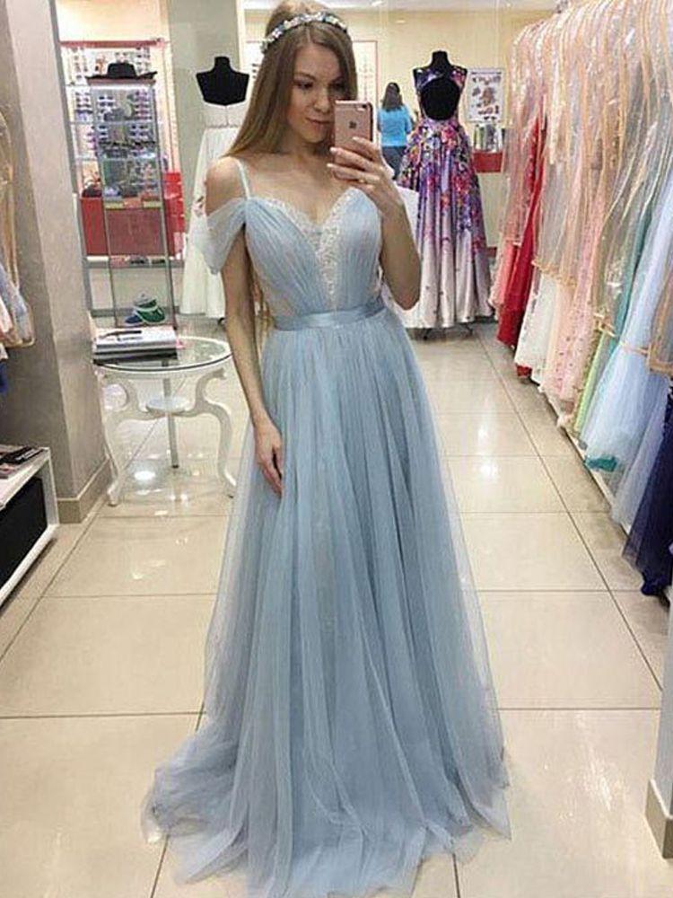 Light Blue Evening Dresses Boutique