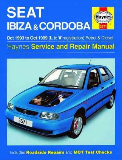seat ibiza cordoba petrol diesel 1993 1999 haynes service repair rh pinterest com