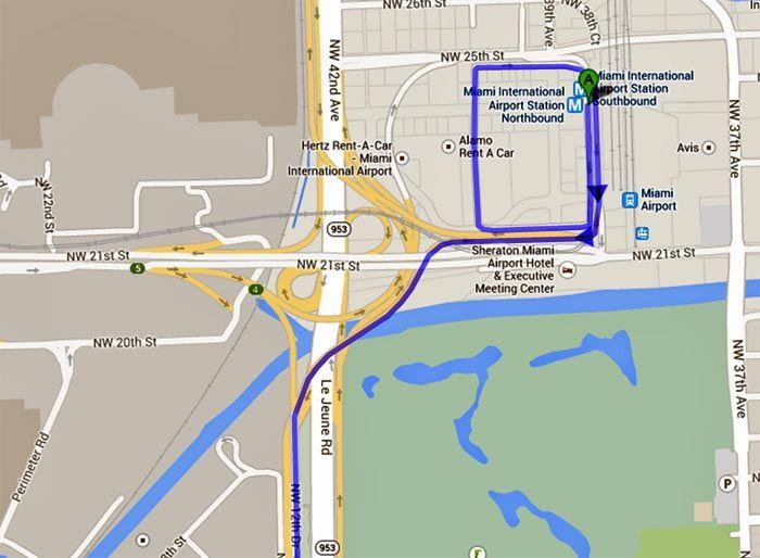 bildergebnis für miami airport map | orte