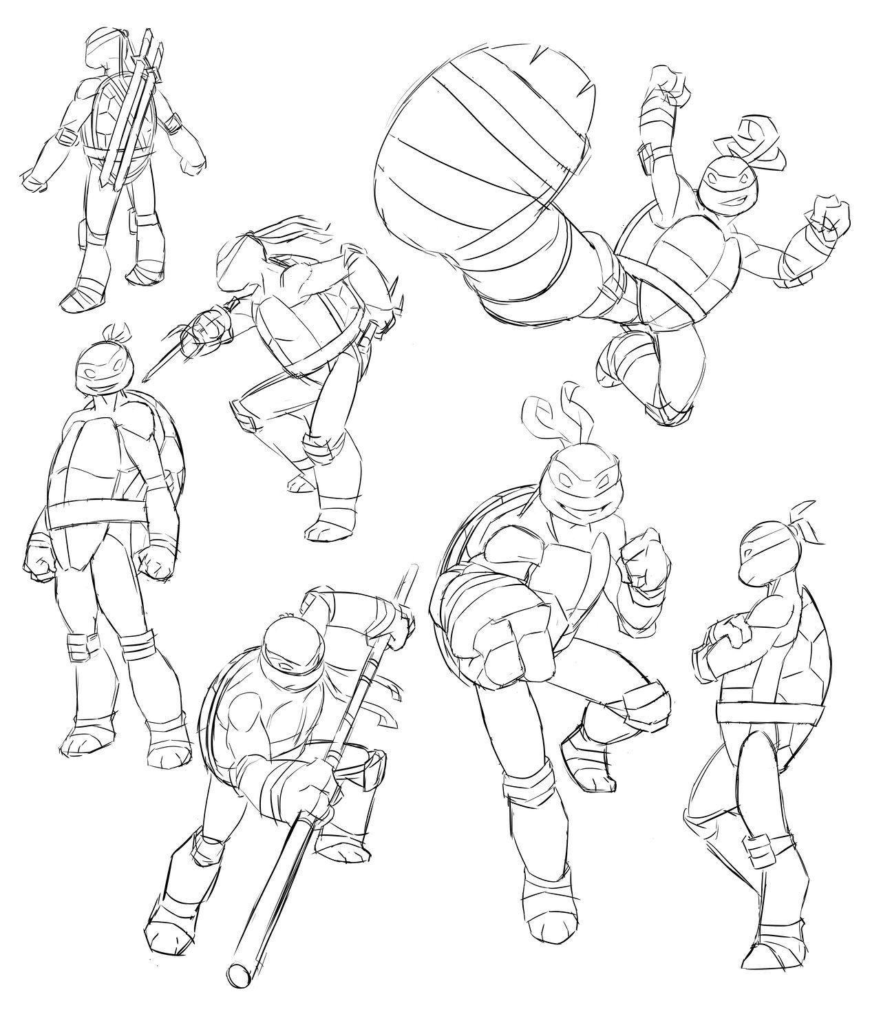 Nickelodeon Tmnt Sketches By Zachramirez Tmnt Artwork Tmnt Sketches