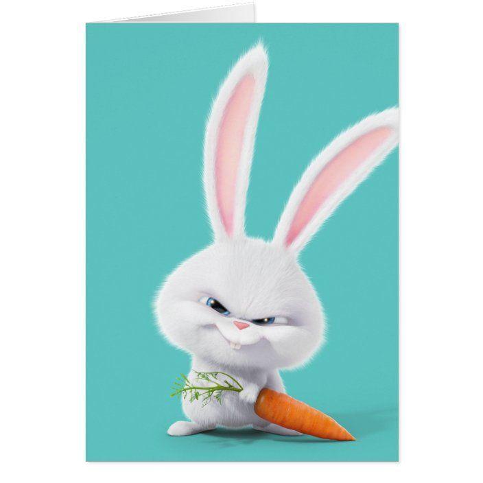 Secret Life Of Pets Insanely Cute Snowball Zazzle Com Cute Cartoon Wallpapers Cute Bunny Cartoon Secret Life Of Pets