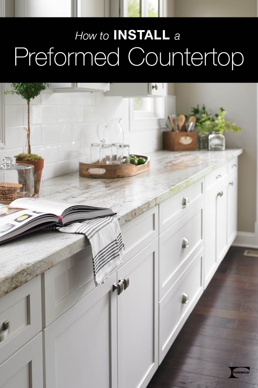 Installing Laminate Countertops Is Easier Than You Might Think