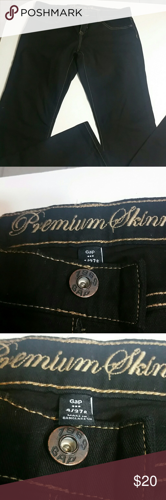 Gap premium skinny size 4/27R perfect condition item worn only one time Gap Jeans Skinny