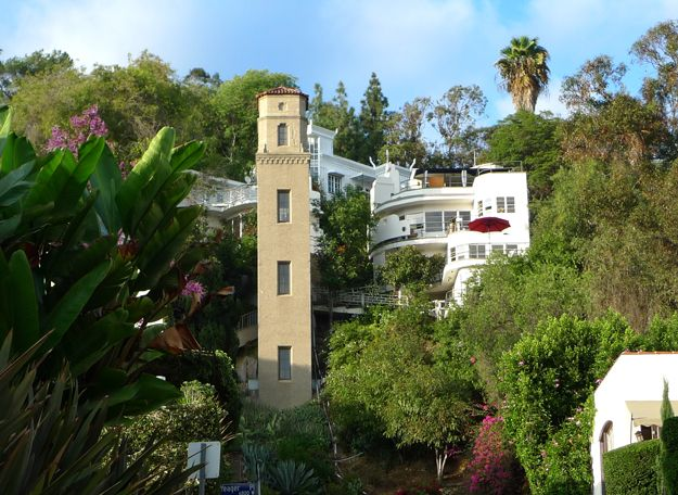 High Tower And Alta Loma Terrace Los Angeles Ca Above The
