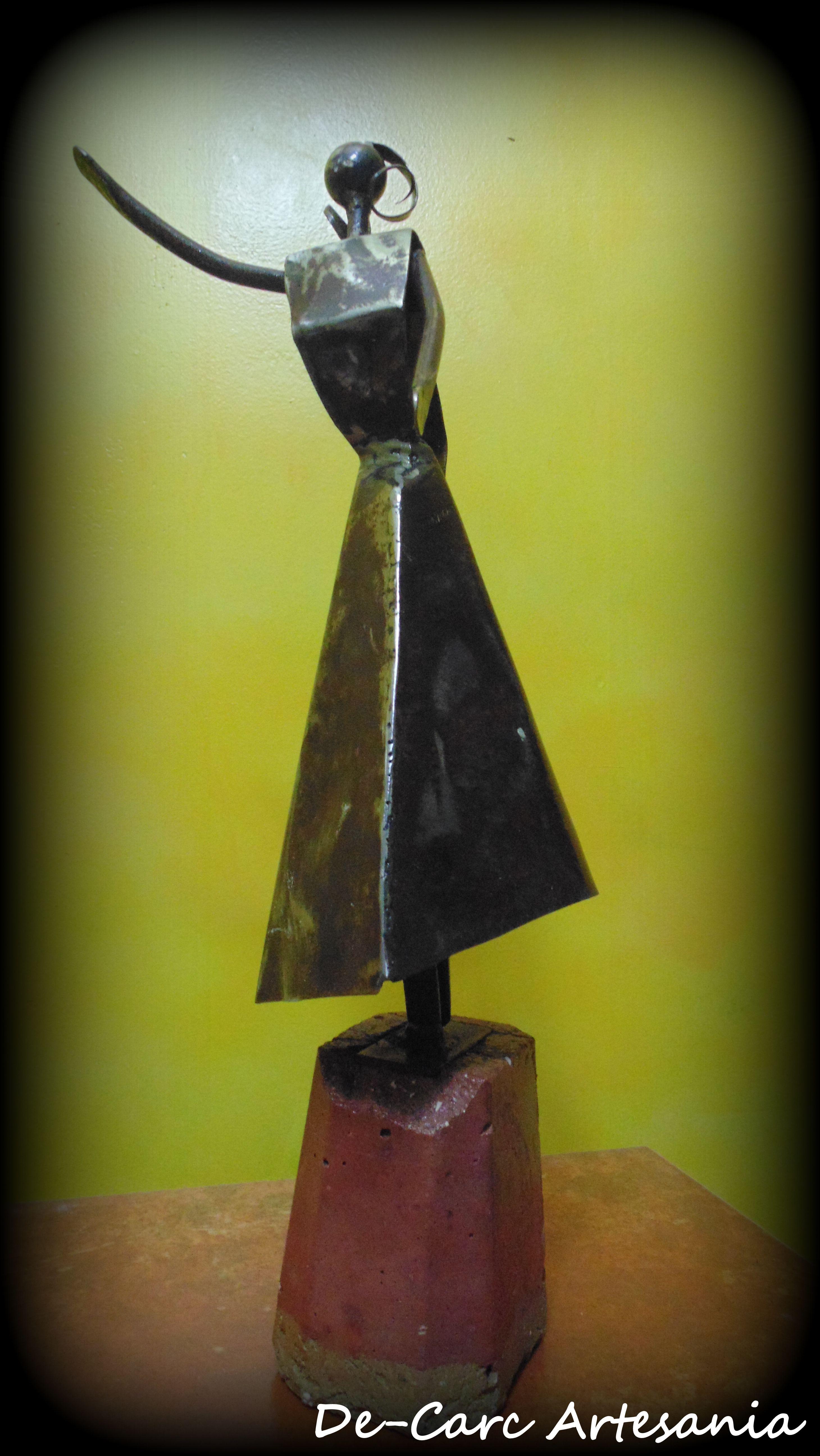 Titulo Justicia Escultura En Hierro 45cm Esculturas De Carc  # Muebles A Medida La Justicia