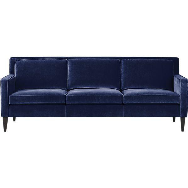 4 seater velvet sofa in green Clark | Maisons du Monde | Wishlist ...