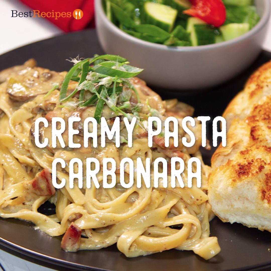 Creamy Pasta Carbonara images