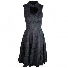 6904 Brocade Dress
