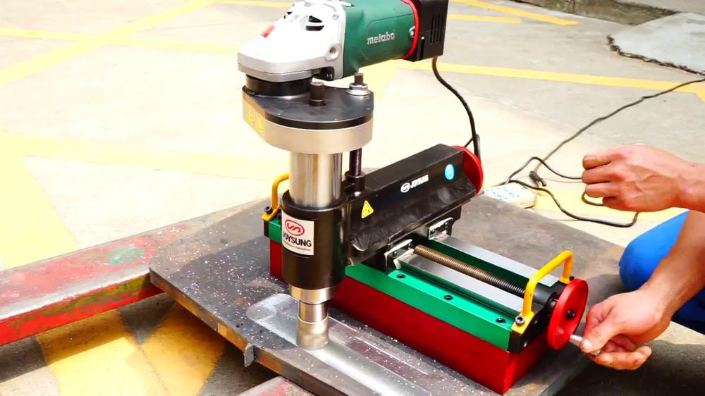 Lma300 Portable Milling Machine Youtube Milling Machine Diy Cnc Metal Milling Machine