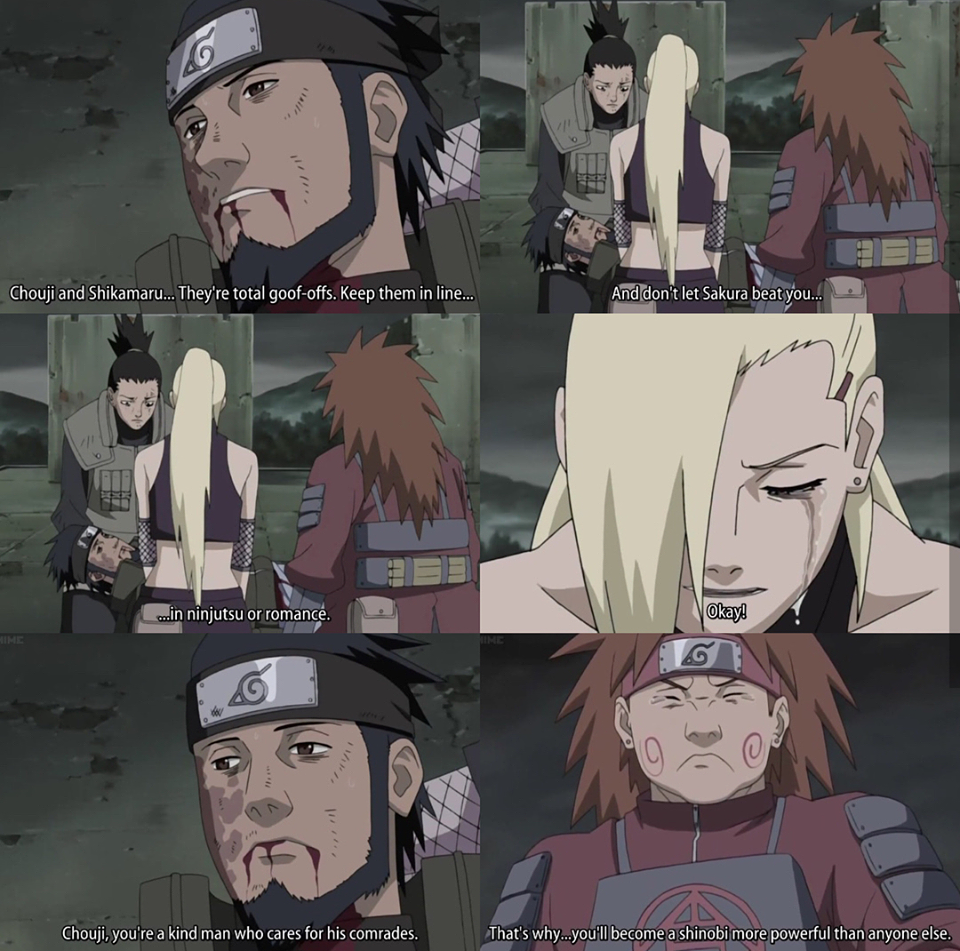Asuma's last words 2/7 Anime, Anime naruto, Naruto