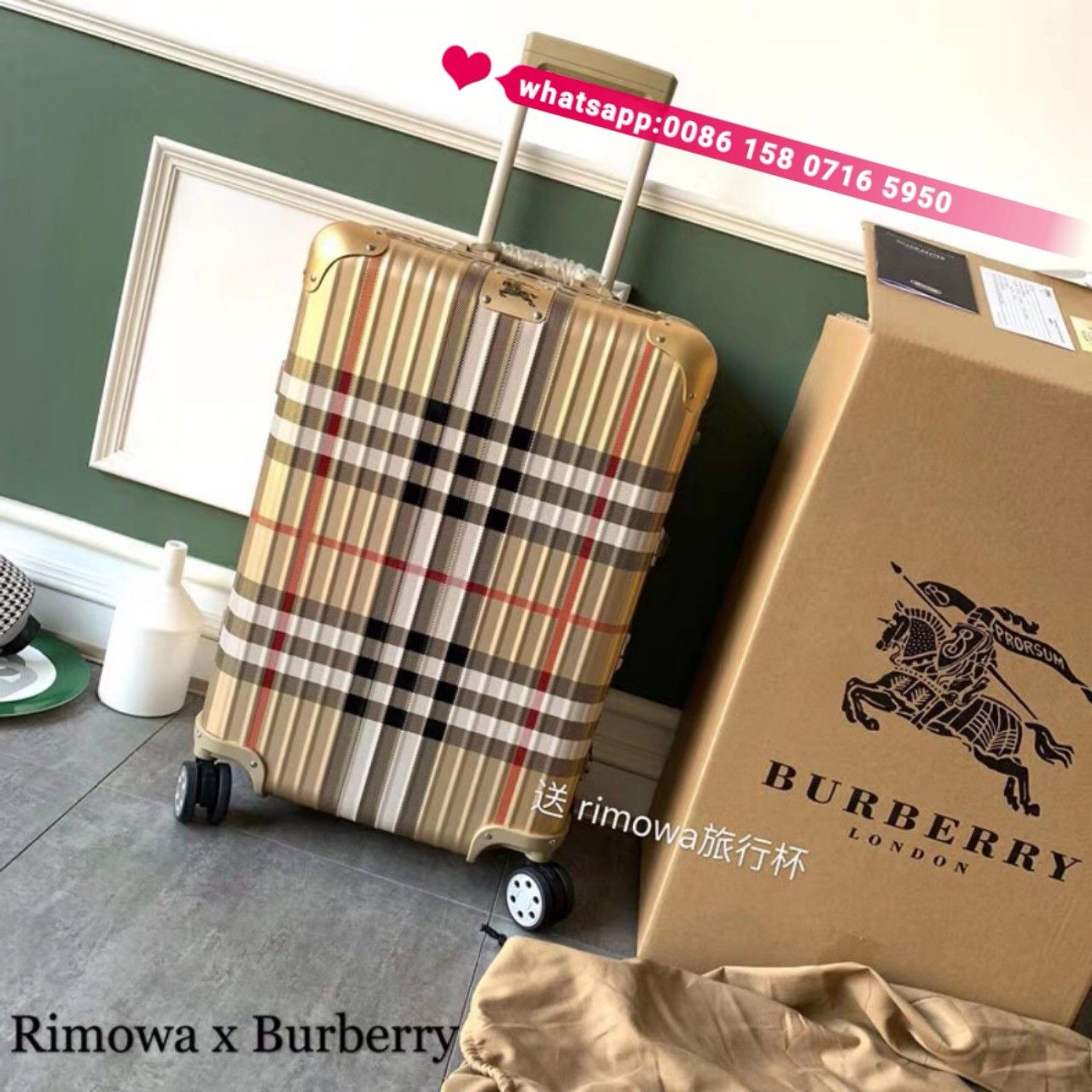 Burberry Rimowa travel bags case   Rimowa, Travel bags