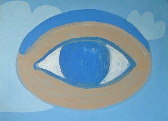 Spaceship, acrylic on canvas, 2002