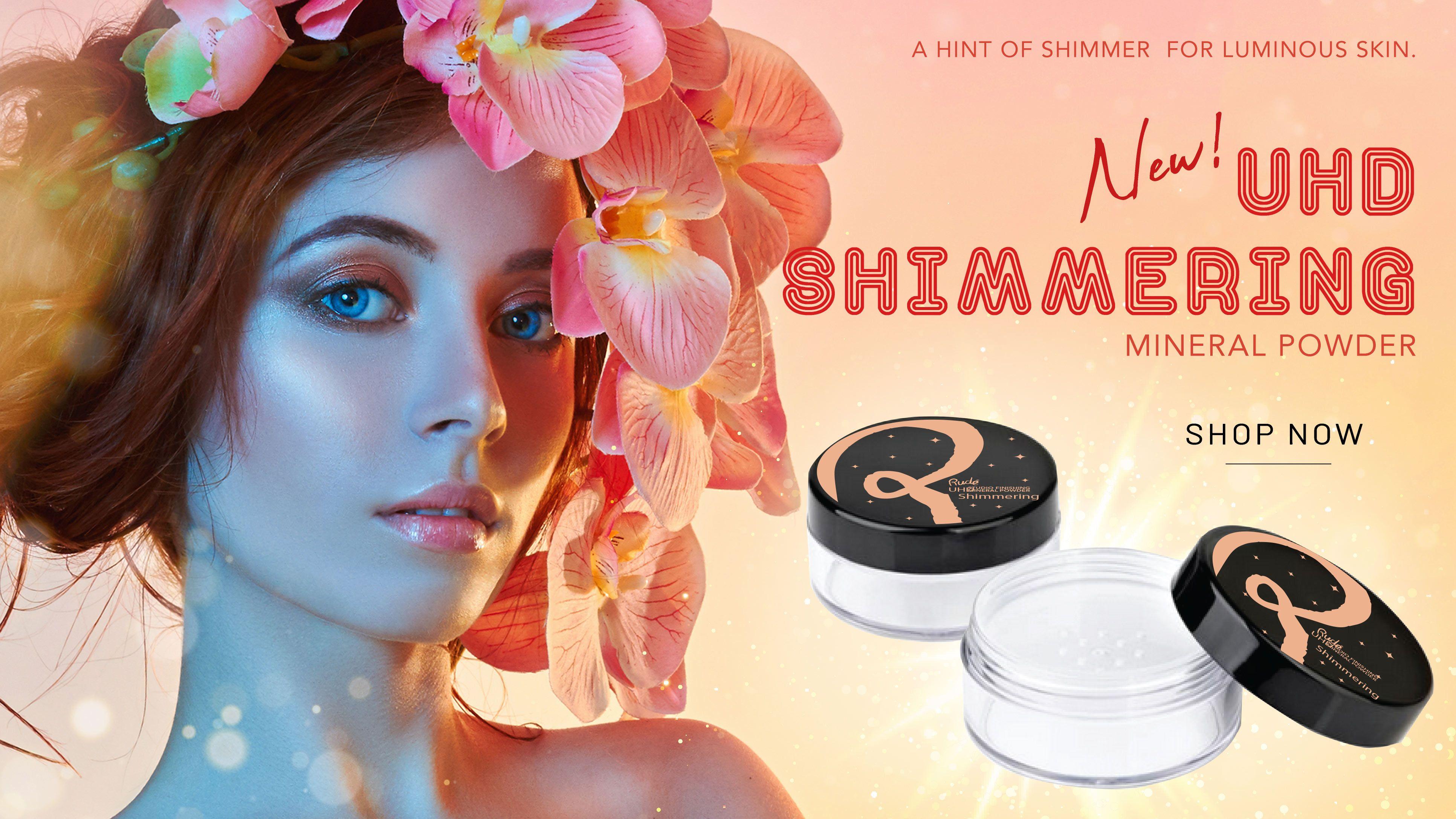 UHD Shimmering Mineral Powder Popular makeup brands