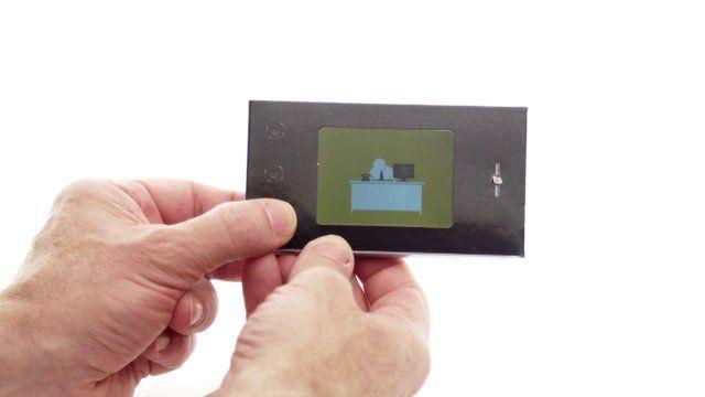 Soft Backed Mini Video Brochure  David Hyams  Bespoke