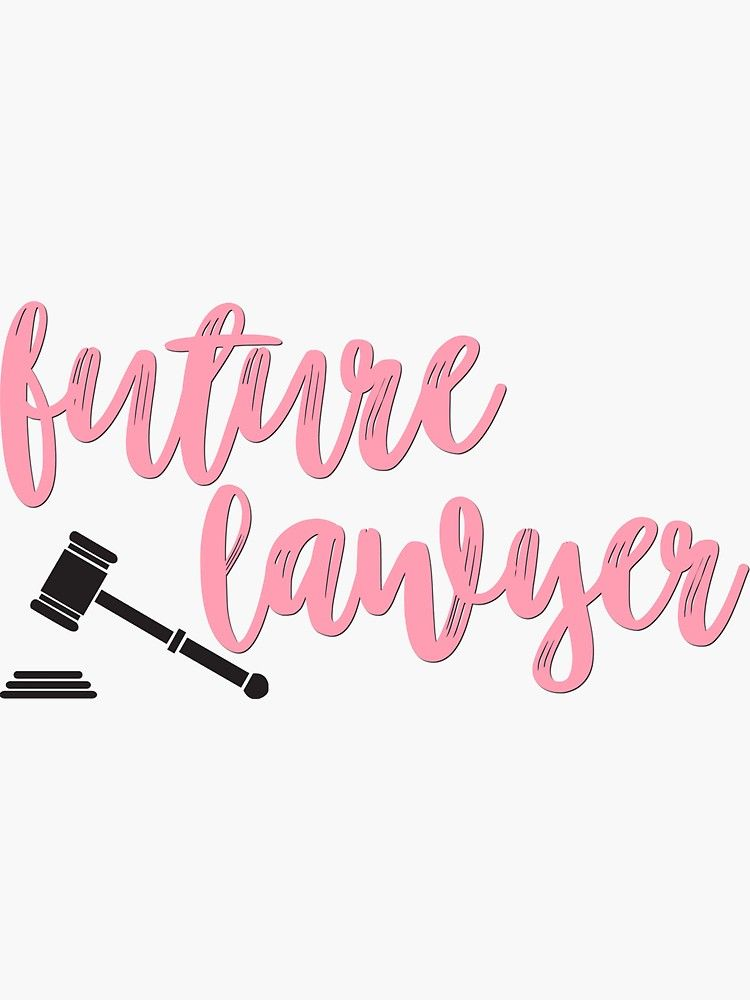 Future Lawyer Sticker By Allieweek Lawyer Quotes Lawyer Tears