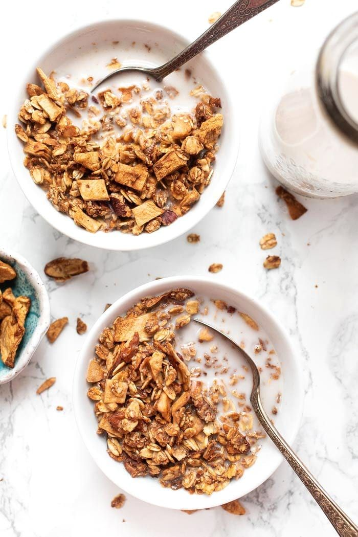 Maple, Cinnamon & Apple Quinoa Granola | Recipe | Granola ...