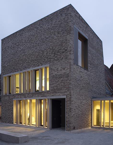 Lutherstadt Eisleben Museum Luther Geburtshaus Architekten Springer Architekten Jorg Springer Architekt Bda Berlin C Bernd Hie Architektur Architekt Haus