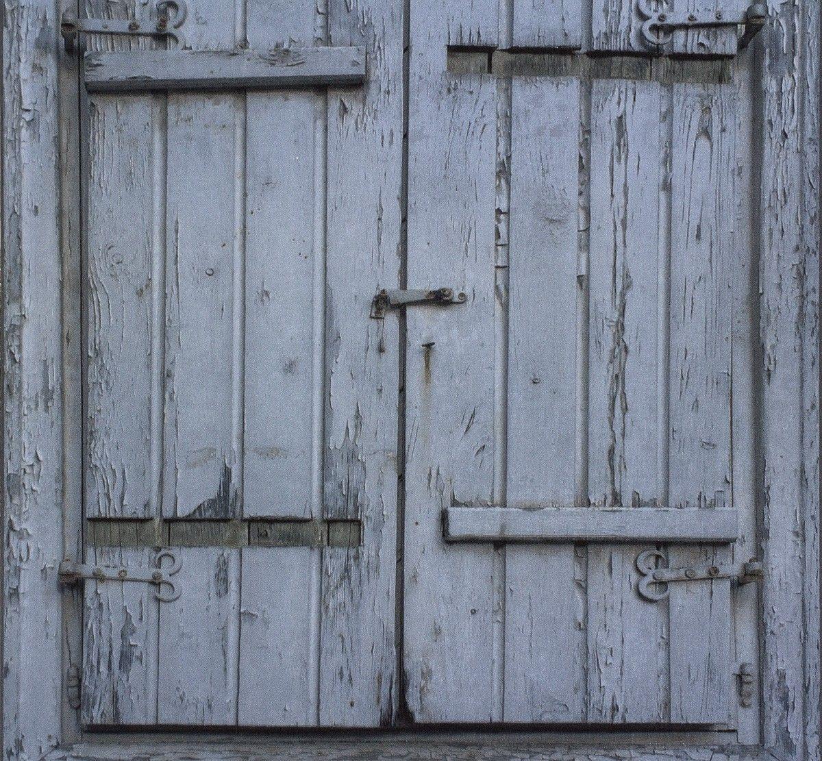Tapete Rasch Crispy Paper Fensterläden Blau 525021