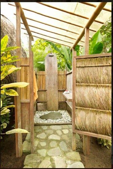 Karibik Feeling Im Eigenen Garten Ein Sichtschutz Aus Bambusmatten