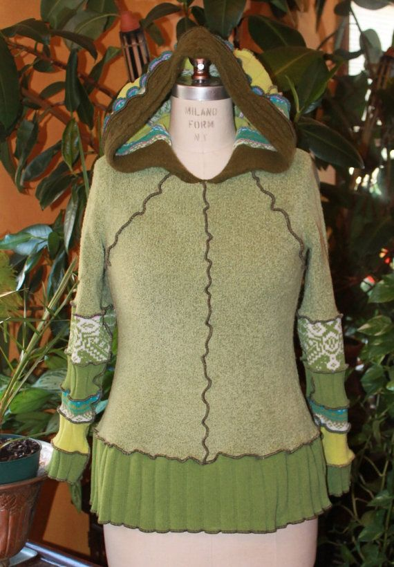 Farb-und Stilberatung mit www.farben-reich.com - Hey, I found this really awesome Etsy listing at https://www.etsy.com/listing/182345418/reconstructed-sweater-pullover-with