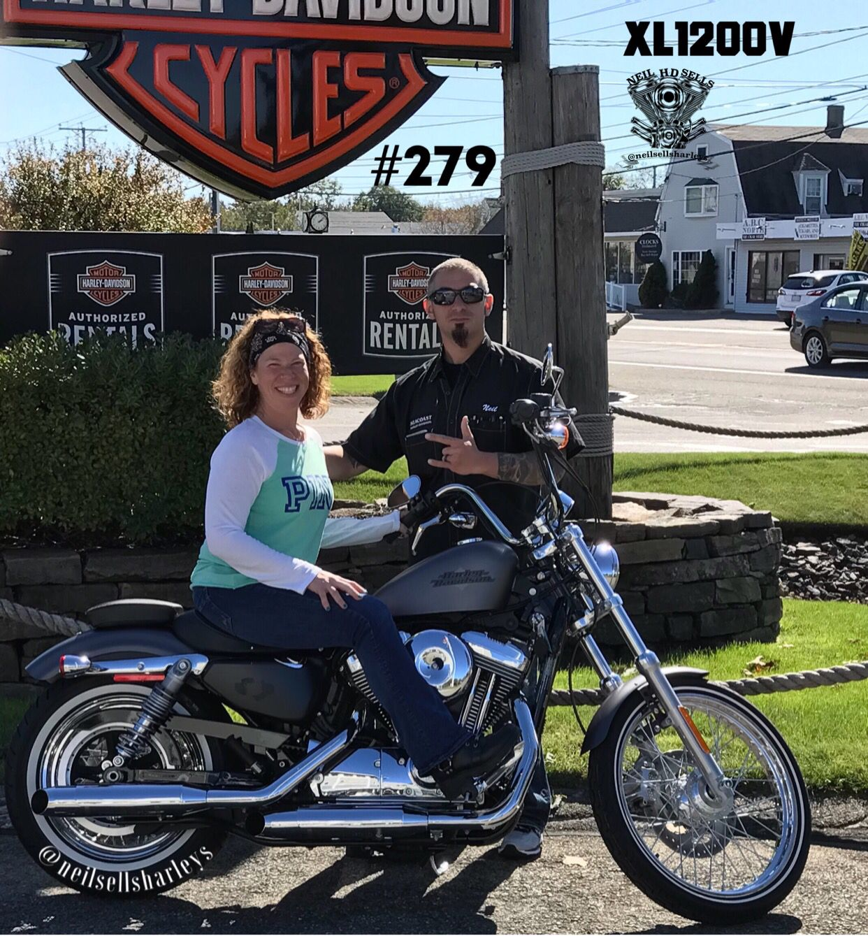 Graduate Riding Academy Get Your 1st Harley Awesome Job Risa Congrats On Your First H D Ride Safe And Welcome To The Seac Sporty Harley Seacoast