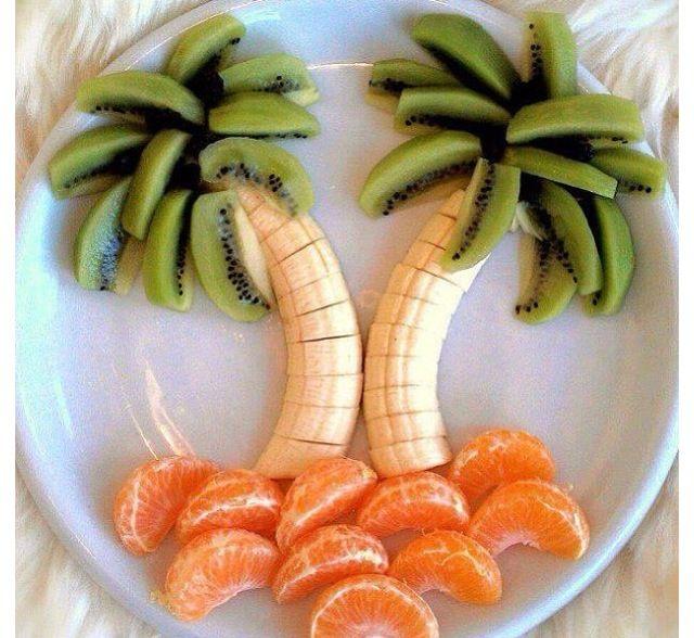 Eat fruits be creative!