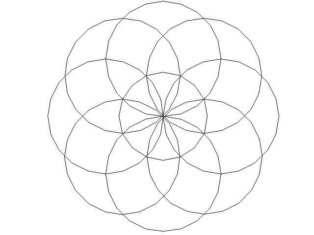 Mandala Disegno Da Colorare Gratis 3 Facile Semplice