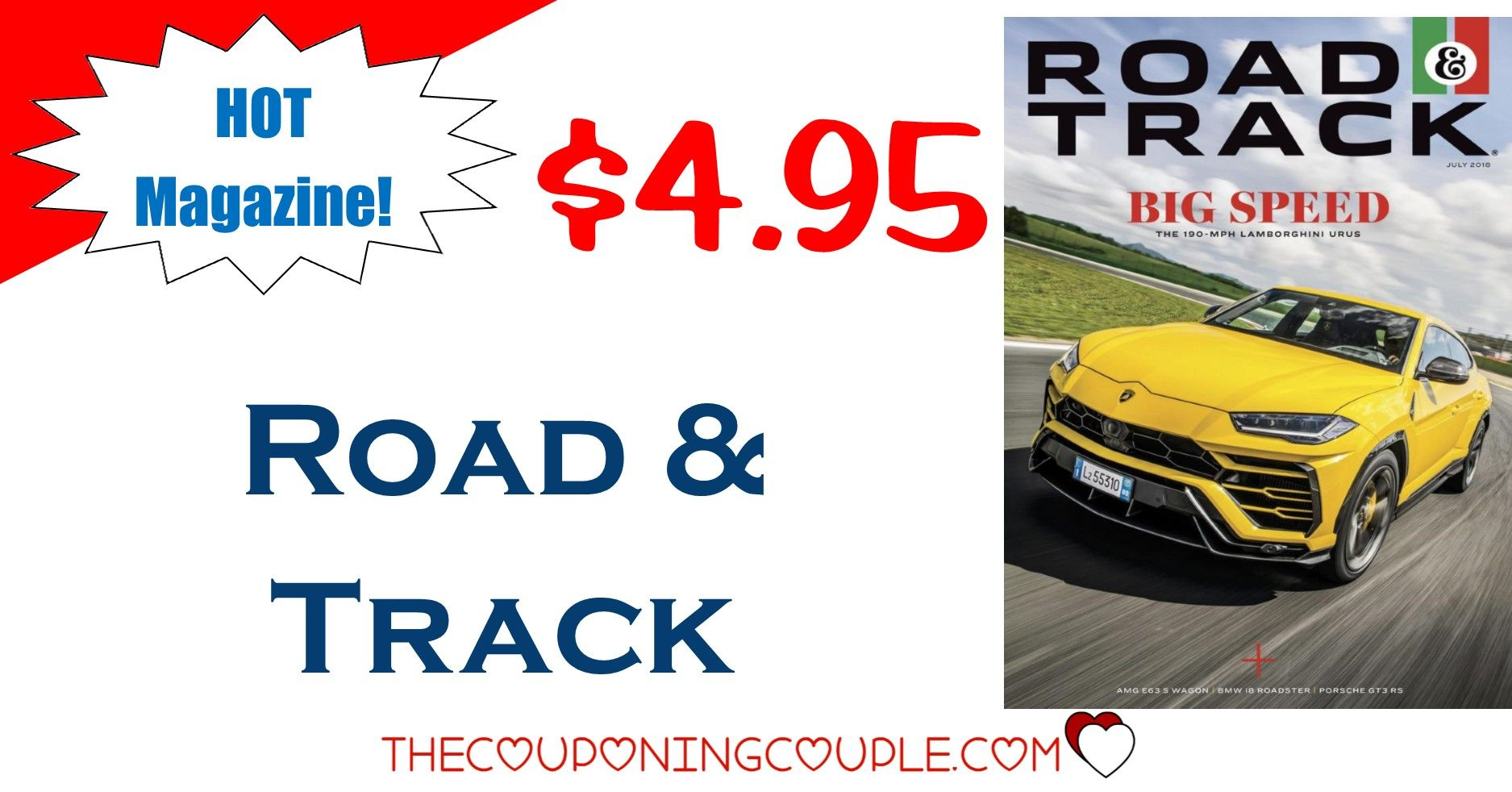 Road n Track Magazine Only 4.95/Year! Gift Idea