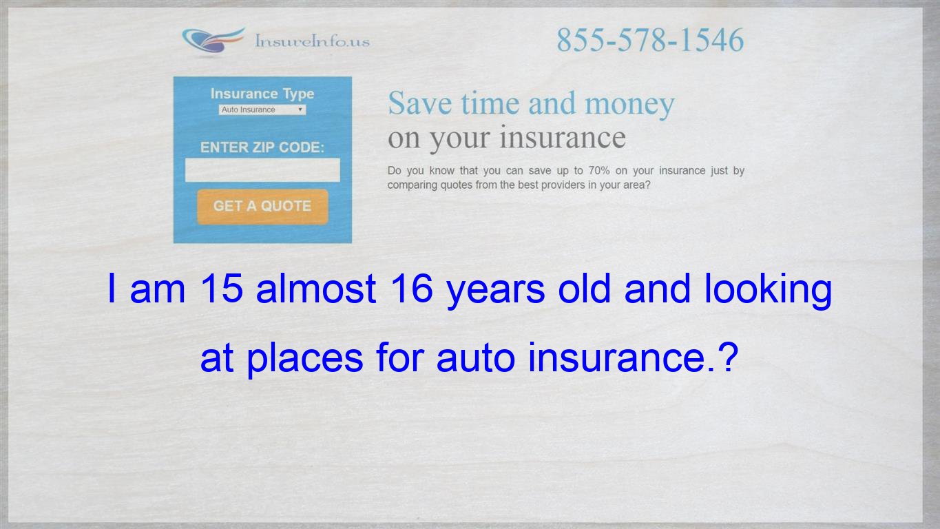 What Company Should I Go With For Auto Insurance I Do Not Have My