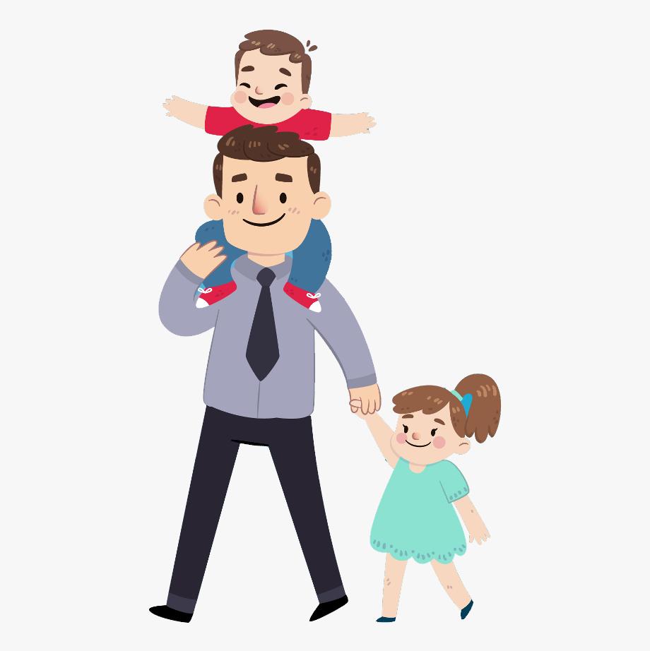 Fathersday Hero Dad Superpapa Father Cartoon Clip Art Free Clip Art