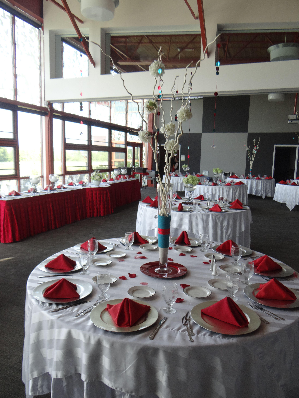 Table Setup At The Grange Insurance Audubon Center Berwick