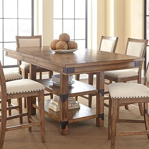 morris home furnishings britta industrial counter height table with rh pinterest com