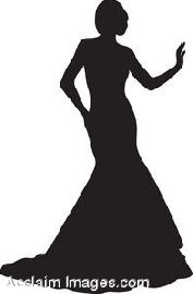 bc211fe8b4 prom dress clip art Silhouette Pictures