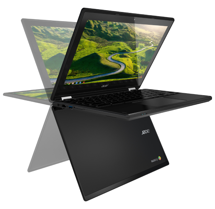 Acer Touchscreen 360° Chromebook with Intel QuadCore, 4GB