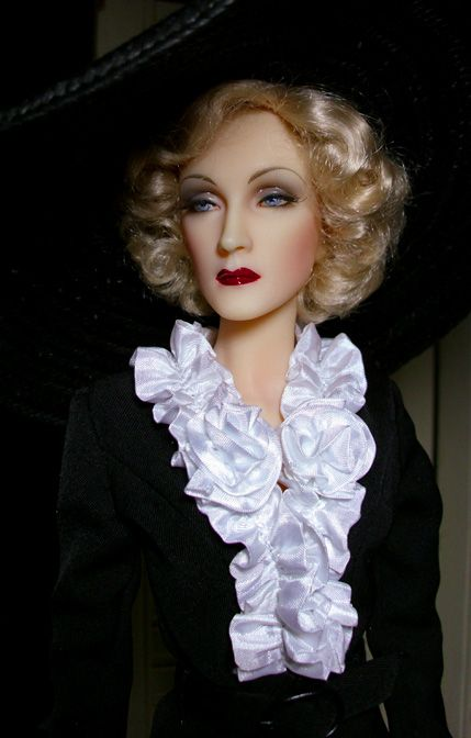 JAMIEshow Marlene Dietrich ~ Image and styling by Wayne in FL ~ The Studio Commissary
