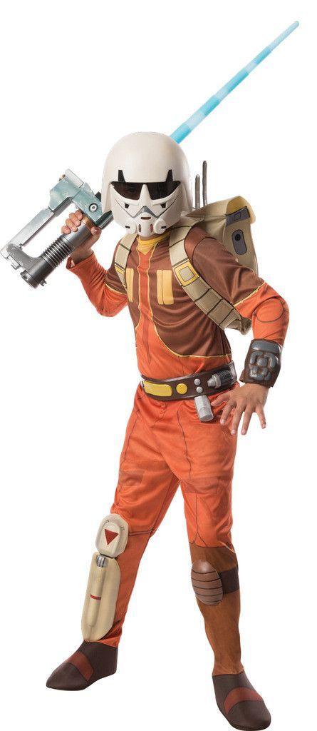 Star Wars Rebels Deluxe Ezra Child Costume Star Wars Rebellen Kostum Junge Und Kinder Kostum