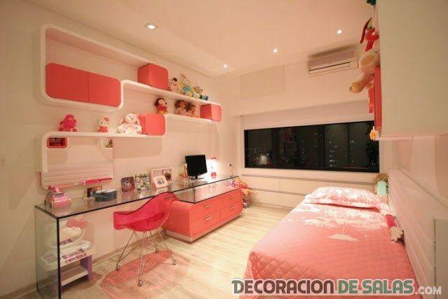 Decoracion dormitorio para chicas dormitorios para chica for Cuartos para ninas y adolescentes