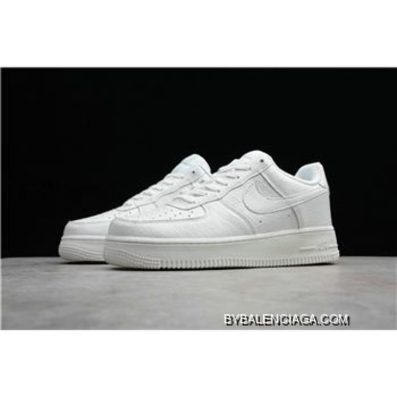 Nike Air Force One 07 LV8 Croc White Summit White 718152 106