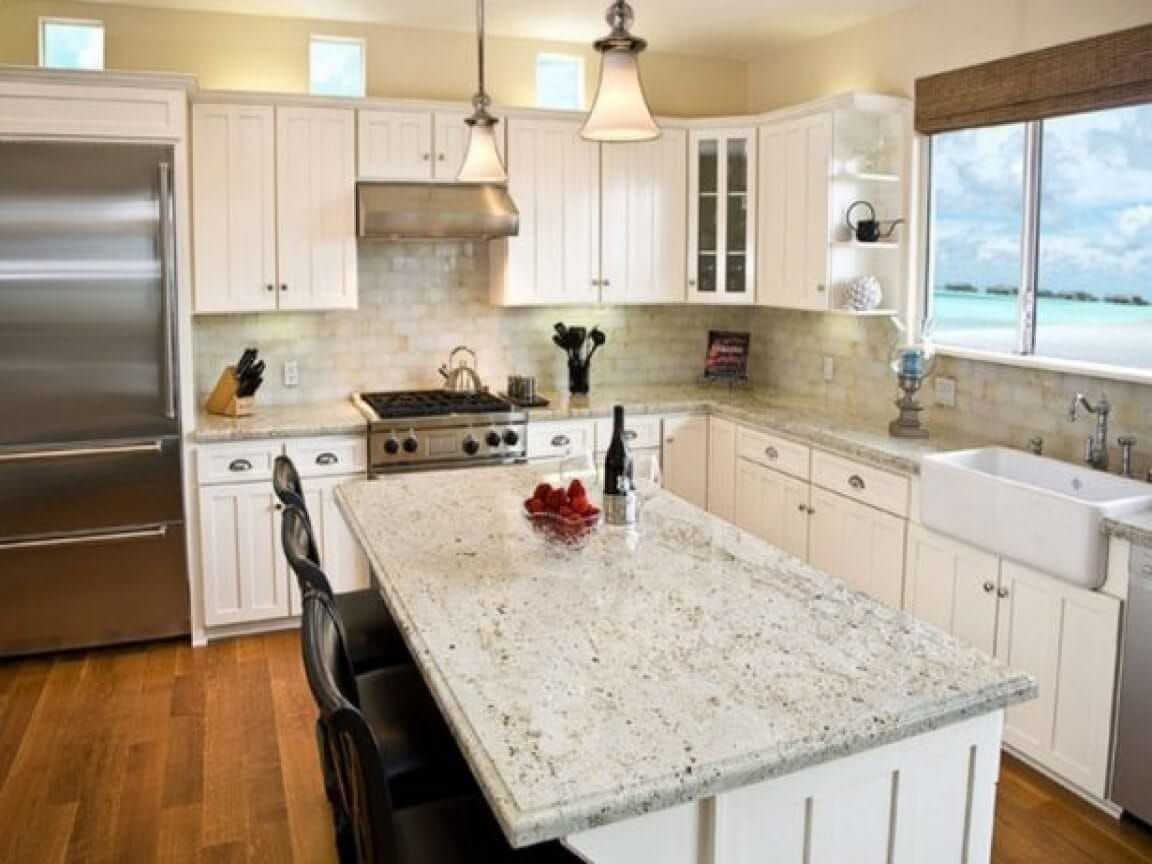 Incredible White Granite 17923 Countertops Cost Reviews White Granite Countertops Outdoor Kitchen Countertops Cream Kitchen Cabinets