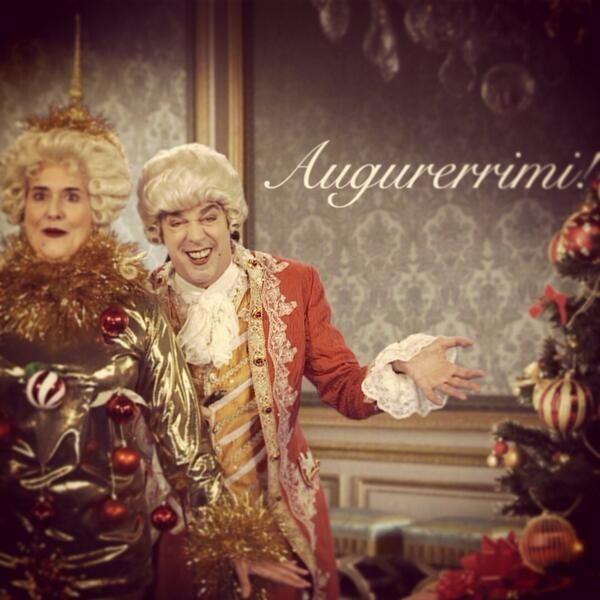 Jean Claude e Madre a Natale | Natale
