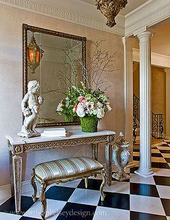 Entryway Hall Corridor Entrance Dcor Decorating Lobby Design Console