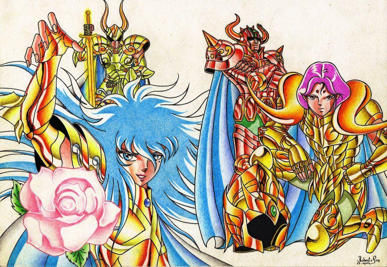 Caballeros Dorados by MUERTITO69