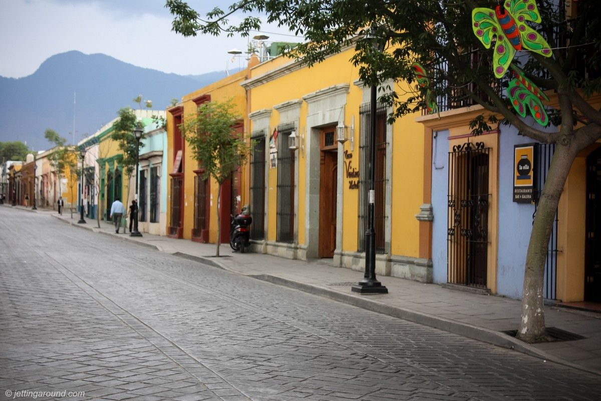 Photo of the Week A street in Oaxaca City, Mexico