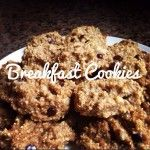 A week of gluten free breakfast recipes - Breakfast Cookies